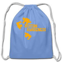 Load image into Gallery viewer, Autism Awareness Cotton Drawstring Bag - Coach Rock