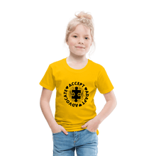 Load image into Gallery viewer, Accept-Adapt-&-Advocate-Toddler-T-Shirt.jpg