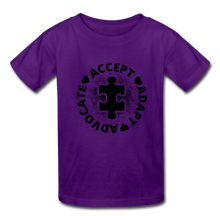 Load image into Gallery viewer, Accept, Adapt & Advocate Kids' T-Shirt - Coach Rock