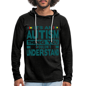 It's An Autism Thing Unisex Lightweight Hoodie - Coach Rock