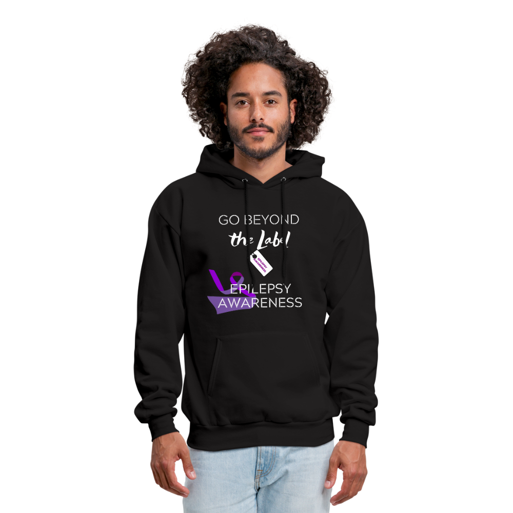 Go Beyond the Label Epilepsy Awareness Hoodie - Coach Rock