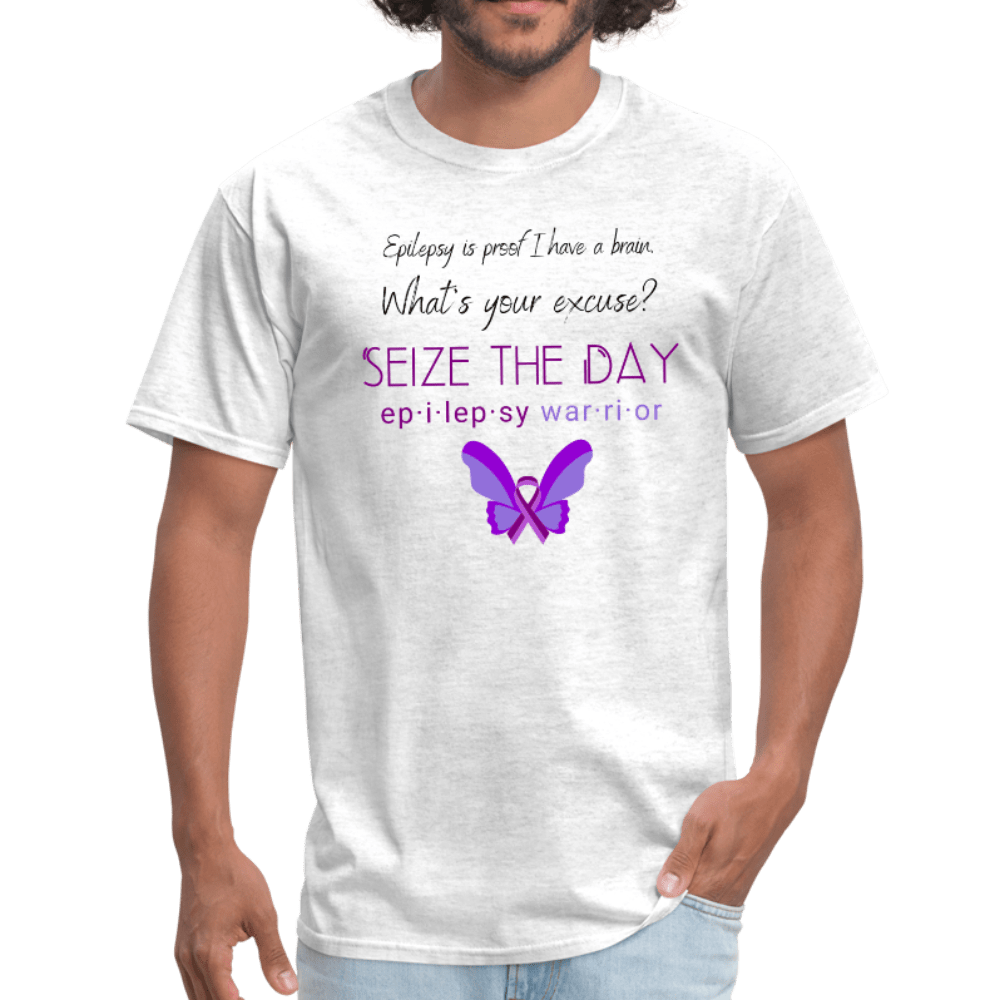 Epilepsy Warrior Seize The Day T-Shirt - Coach Rock