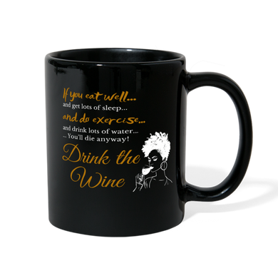Drink the Wine Mug - Coach Rock