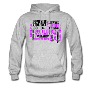 Domestic Violence Awareness Hoodie - Coach Rock