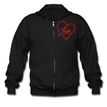 Load image into Gallery viewer, Love Shouldn't Hurt Zip Hoodie - Coach Rock