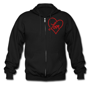 Love Shouldn't Hurt Zip Hoodie - Coach Rock
