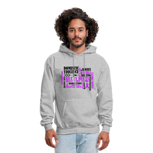 Load image into Gallery viewer, Domestic Violence Awareness Hoodie - Coach Rock