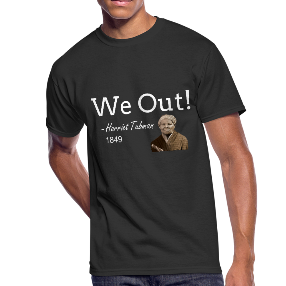 Harriet Tubman We Out Men's T-shirt - Coach Rock
