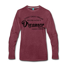 Load image into Gallery viewer, Harriet Tubman Dreamer Long Sleeve T-Shirt - Coach Rock