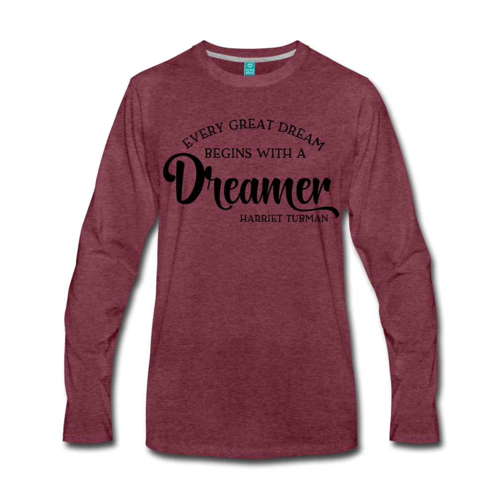 Harriet Tubman Dreamer Long Sleeve T-Shirt - Coach Rock