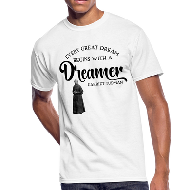Harriet Tubman Dreamer T-Shirt - Coach Rock