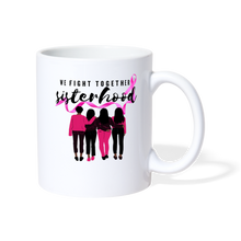 Load image into Gallery viewer, We Fight Together Breast Cancer Sisterhood Coffee Cup - Coach Rock
