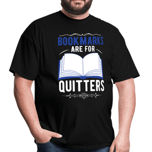 Book Marks are for Quitters T-Shirt - Coach Rock