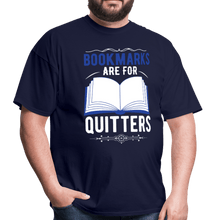 Load image into Gallery viewer, Book Marks are for Quitters T-Shirt - Coach Rock