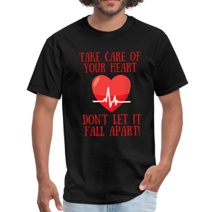 Take care of your heart, don't let it fall apart T-Shirt - Coach Rock