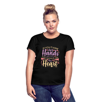 You Should See My Heart Women's Relaxed Fit T-Shirt - Coach Rock