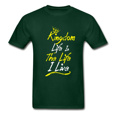 Kingdom Life Is The Life I Live UNISEX T-Shirt - Coach Rock