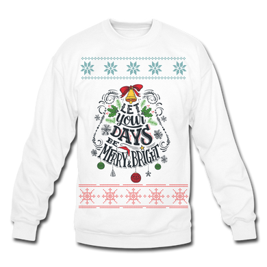 Let Your Days Be Merry Ugly Sweater - Coach Rock