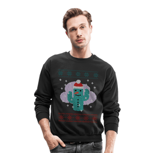 Cactus Snowman Ugly Christmas Sweater - Coach Rock