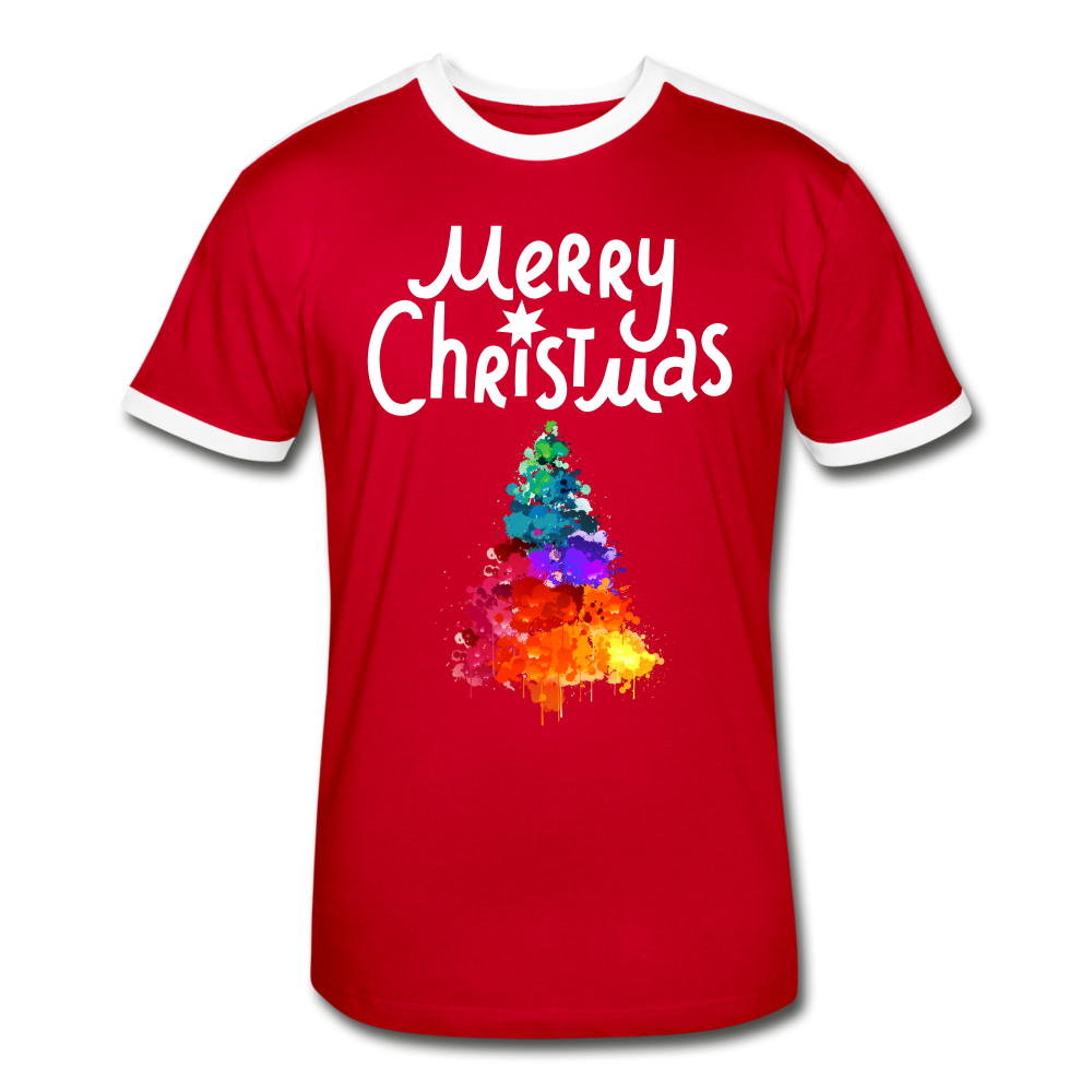 Merry Christmas Men's Retro T-Shirt - Coach Rock