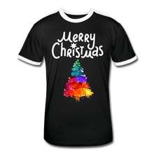 Load image into Gallery viewer, Merry Christmas Men's Retro T-Shirt - Coach Rock