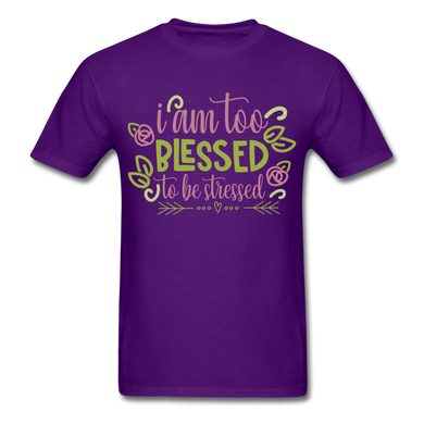 To Blessed To Be Stressed T-Shirt - Coach Rock