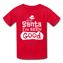 Load image into Gallery viewer, Dear Santa, I Was Good & My Sister Too Kids' T-Shirt - Coach Rock