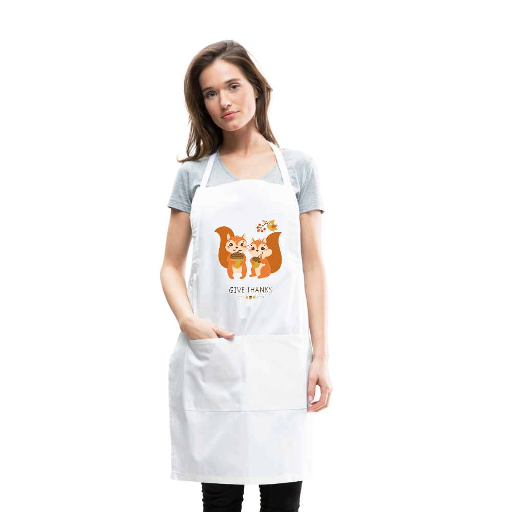 Give Thanks Adjustable Apron - Coach Rock