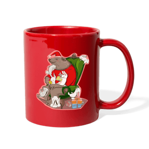 Eat Drink and Be Merry Christmas Mug - Coach Rock