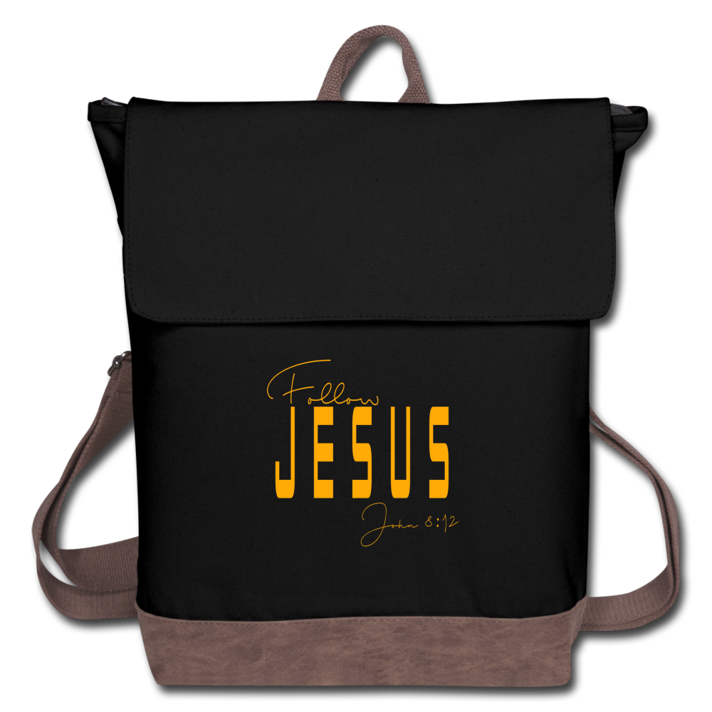 Follow Jesus Canvas Backpack - Coach Rock