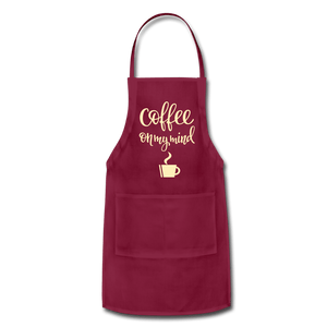 Coffee On My Mind Adjustable Apron - Coach Rock