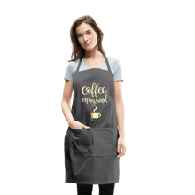 Load image into Gallery viewer, Coffee On My Mind Adjustable Apron - Coach Rock