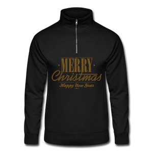 Merry Christmas Quarter Zip Pullover - Coach Rock