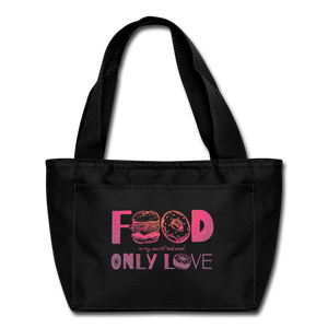 Food is My Secret Love Lunch Box - Coach Rock