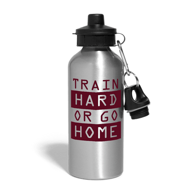Train Hard Or Go Home Water Bottle - Coach Rock