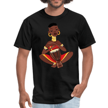 Load image into Gallery viewer, Lady Playing Djembe T-Shirt - Coach Rock