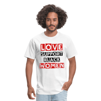 Love Support Black Women T-Shirt - Coach Rock