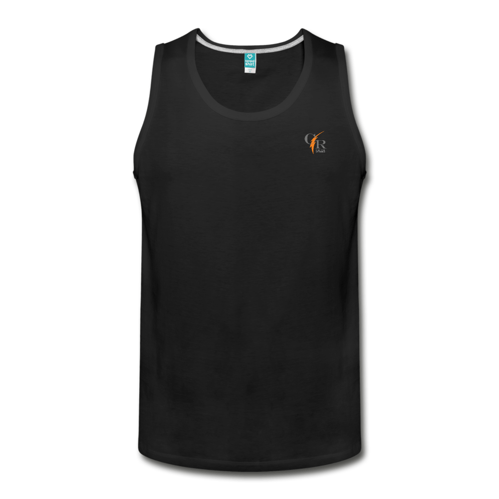 CR Activewear Men's Slim Fit Tank - Coach Rock