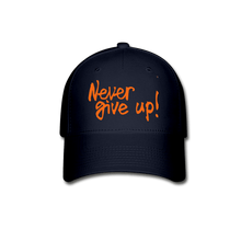 Load image into Gallery viewer, CR Never Give Up! Baseball Cap - Coach Rock