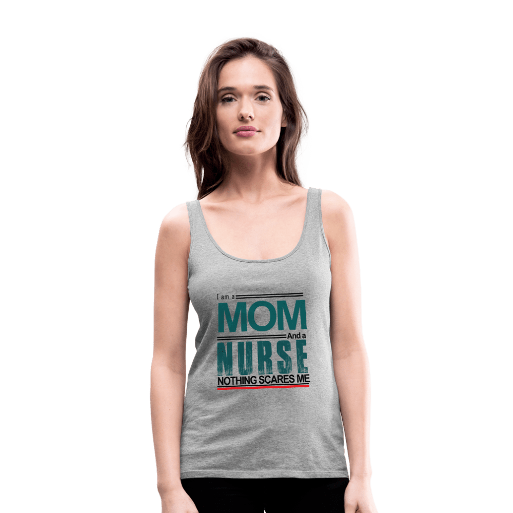 I'm A Mom and a Nurse Premium Tank Top - Coach Rock