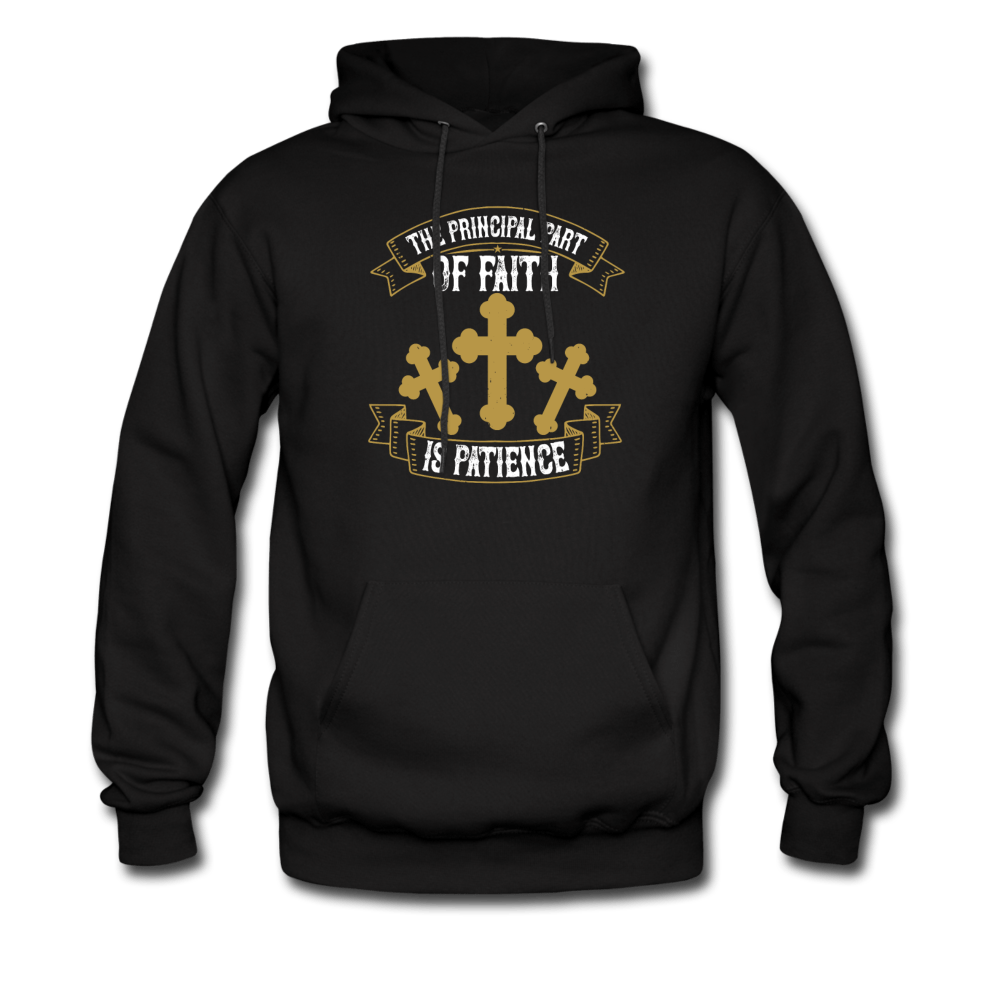The Principal Part of Faith is Patience Men's Hoodie - Coach Rock