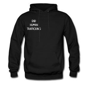 End Human Trafficking Awareness Men's Hoodie - Coach Rock