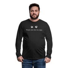 Load image into Gallery viewer, People Are Not For Sale Long Sleeve T-Shirt - Coach Rock