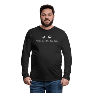 People Are Not For Sale Long Sleeve T-Shirt - Coach Rock