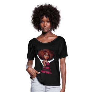 Human Trafficking Awareness Women's Flowy T-Shirt - Coach Rock