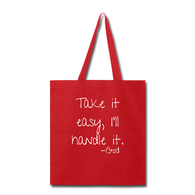 Take it Easy, I'll Handle It Tote Bag - Coach Rock