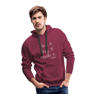 Take it Easy, I'll Handle It Men's Hoodie - Coach Rock