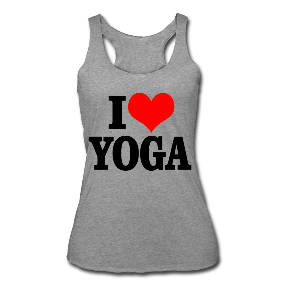 I Love Yoga Women's Tank - Coach Rock