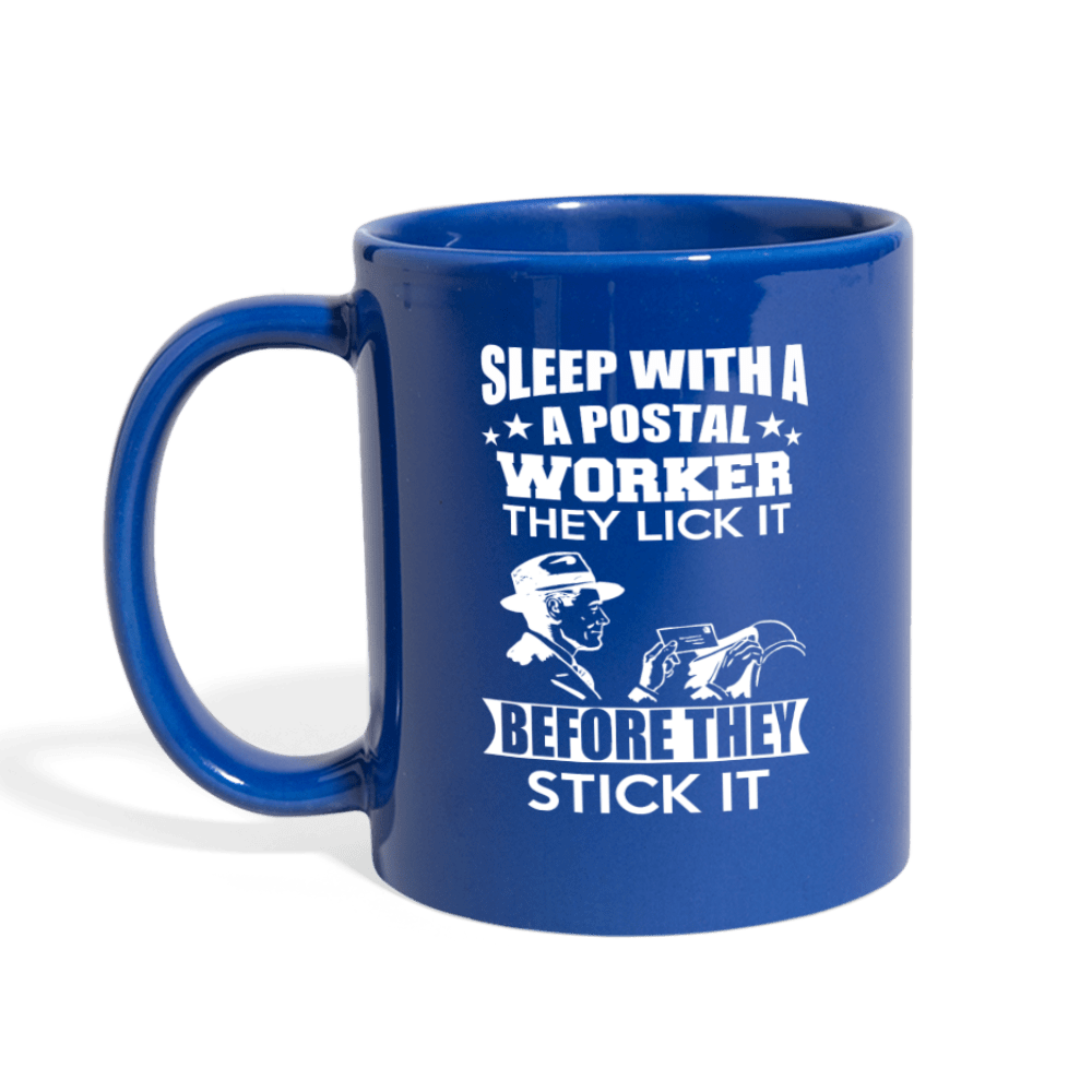 Postal Worker Lick & Stick It Mug - Coach Rock