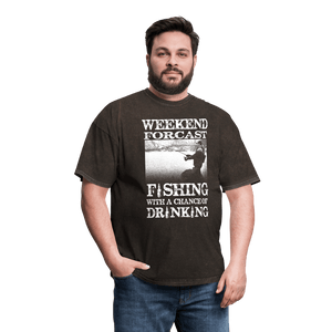 Weekend Forcast Fishing T-Shirt (Unisex) - Coach Rock